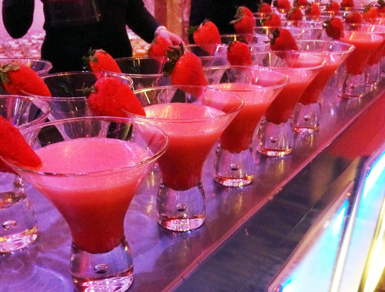 Strawberry-cocktails
